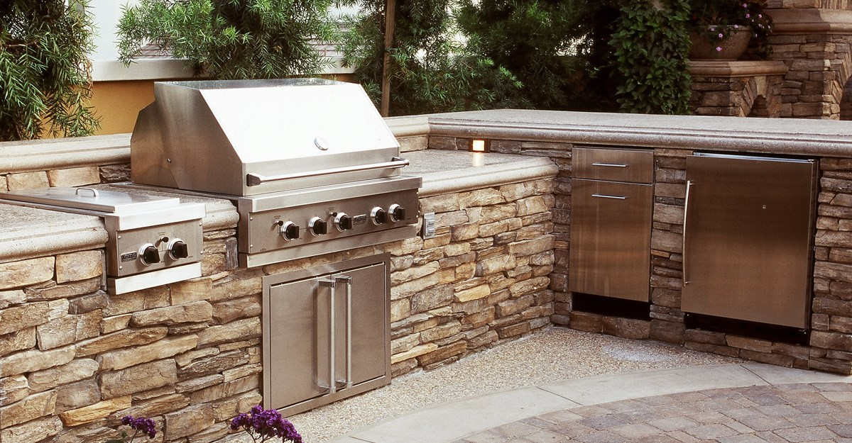 Outdoor Kitchen Pictures outdoor kitchens - the hot tub factory - long island hot tubs