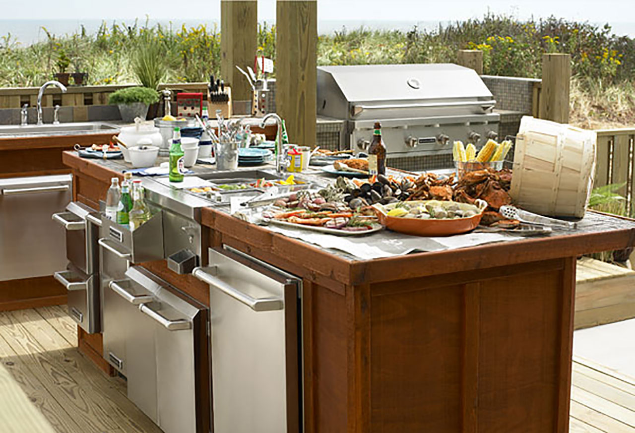 Long Island Outdoor Kitchens And Backyard Kitchens