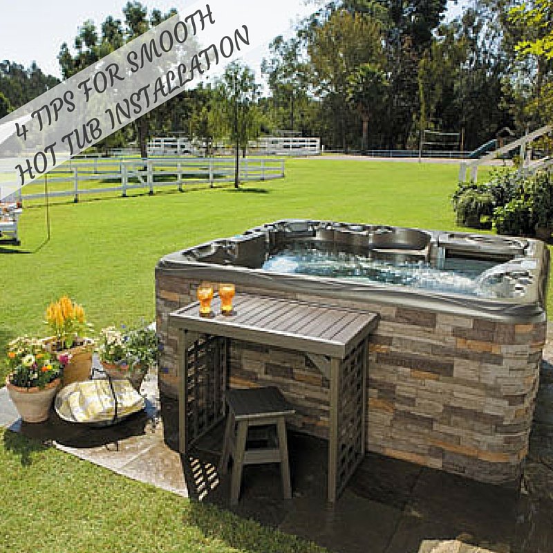 4 Tips For a Smooth Hot Tub Installation This Summer - The Hot Tub ...
