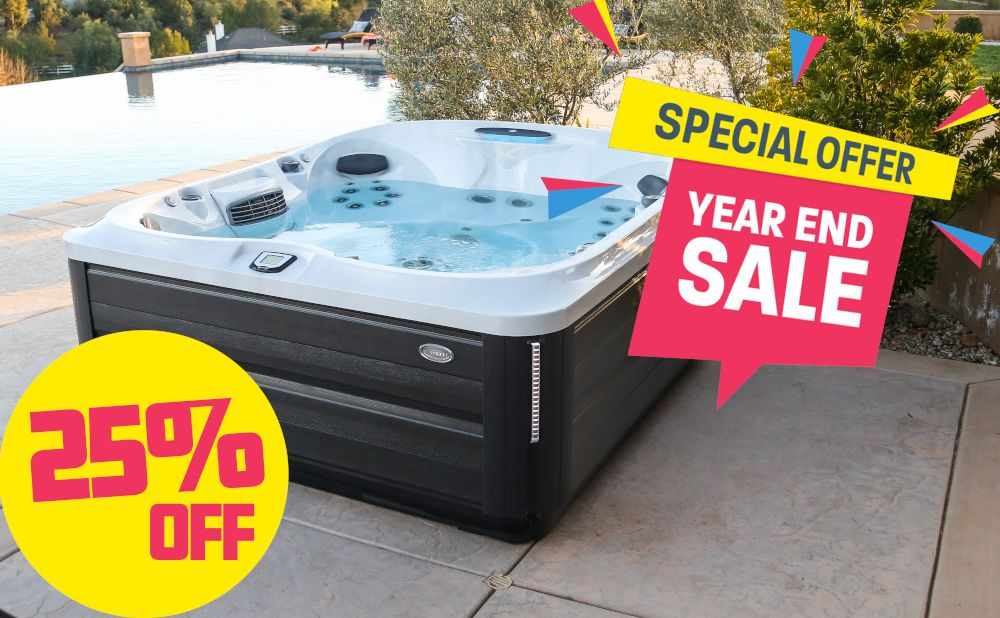 Hot Tub Factory Year End Sale