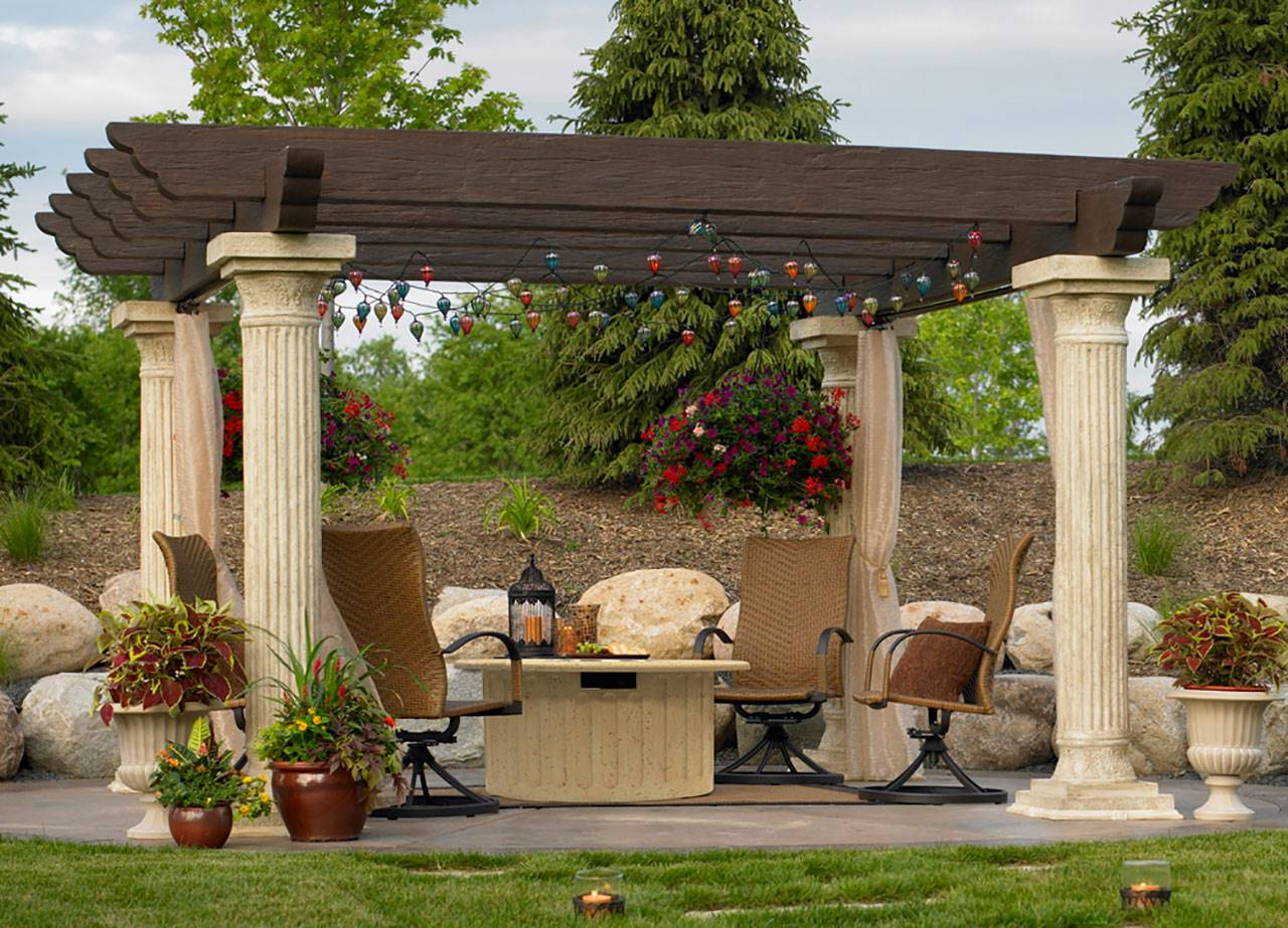 Pergolas on Long Island