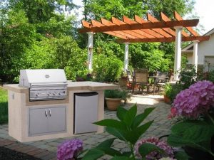 Outdoor Kitchen Components on Long Island