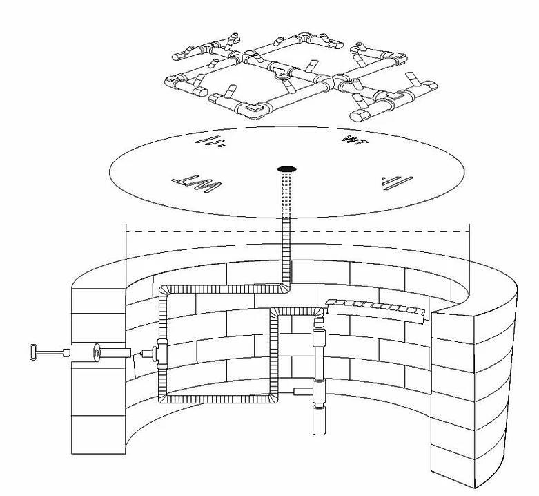Universal Paver Kit Diagram